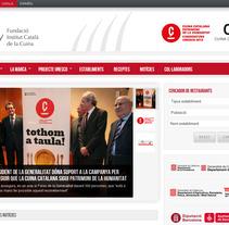 Institud Català de la Cuina. Um projeto de Design, Desenvolvimento de software e Informática de Kasual Studios         - 21.03.2012