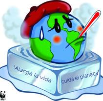"""Campaña """" Apaga la luz por una hora, salva el planeta """" . Um projeto de Design e Publicidade de Luis Santiago Correa Valle         - 22.03.2012"""
