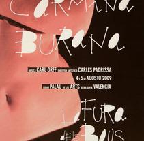 Cartel de ópera. Um projeto de Design de Silvia Martin Pallares         - 25.03.2012