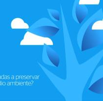 BBVA uso web. A Illustration, Advertising, Motion Graphics, Film, Video, TV, UI / UX, 3D&IT project by Pau Ju - 26-03-2012