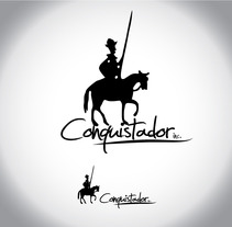 Conquistador logo. A Design, Illustration, and Advertising project by Eduardo Bustamante         - 06.04.2012