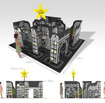 Diseño acciones de calle navidad, Ayto. Alcobendas. Um projeto de Design, Ilustração e 3D de Alvaro Portela Martínez - 12-04-2012