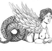 Hybris. A Illustration project by Nuria Noguera         - 26.04.2012