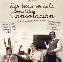 Las lecciones de la señorita Consolación Shooting y Poster. A Design, Advertising, and Photograph project by Iaia Cocoi - 27-04-2012