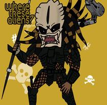 Depredador. A Illustration project by Jpdesign OK         - 29.04.2012