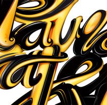 davidmaker - lettering. A Design&Illustration project by david sánchez cobos - May 02 2012 06:25 PM