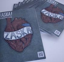 Dirección artística Zaska!. Um projeto de Design e Ilustração de Denis Zacaryas - 08-05-2012