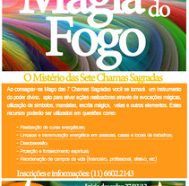 Magia do Fogo. A  project by Carolinne Assis         - 09.05.2012