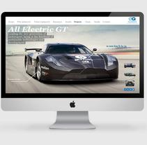 Promoción Quimera AEGT: El coche eléctrico más rápido. Un proyecto de Diseño de Maria Jose J. Colás         - 11.05.2012