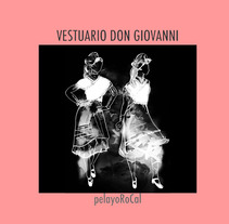 VESTUARIO DON GIOVANNI. A Design project by Pelayo RoCal - 02-07-2012