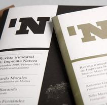 Revista Narcea. Un proyecto de Diseño de Jorge  Lorenzo  - 18-05-2012