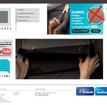 Diseño de la web corporativa y realización del vídeo tutorial.. A Design, Advertising, Software Development, Photograph, Film, Video, and TV project by Bloom Estudio         - 04.06.2012