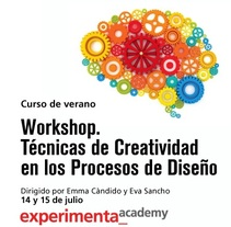 WORKSHOP DE TÉCNICAS DE CREATIVIDAD EN LOS PROCESOS DE DISEÑO. A Design, Advertising, Installations, UI / UX, and 3D project by ... y no te quedes en blanco  - 14-06-2012