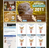 Tienda online El Angel. Um projeto de Design, Publicidade e UI / UX de María González         - 25.06.2012
