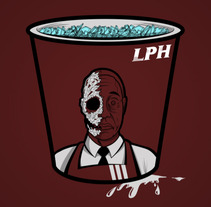 Los Pollos Hermanos. A Design, Illustration, Film, Video, and TV project by Pablo Cialoni - 02-07-2012