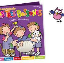 minisite La Revista de Les Tres Bessones. Un proyecto de Diseño de Carme Carrillo Cubero         - 03.07.2012