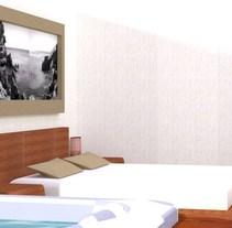 Suite Ametlla de Mar -Tarragona. Um projeto de Design de Bàrbara Cid - 03-07-2012