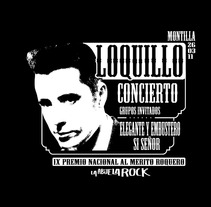 CARTEL LOQUILLO. A  project by Juan Carlos Espejo Feria - 10-07-2012
