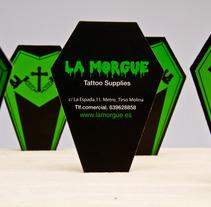"""""""LA MORGUE"""". Un proyecto de Diseño e Instalaciones de Tanya VONDEE - 11-07-2012"""