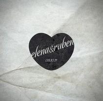 Wedding Stamp & Flyers. Un proyecto de Diseño e Ilustración de Rubén Martínez González - 11-07-2012