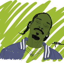 SnoopDog. A Illustration project by Pau Avila Otero         - 15.07.2012