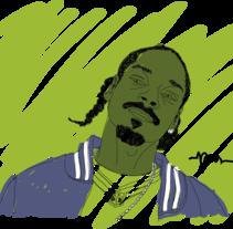 SnoopDog. Un proyecto de Ilustración de Pau Avila Otero         - 15.07.2012