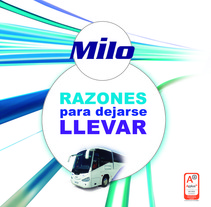 Autocares Milo. A Design, and Advertising project by Estudio de Diseño y Publicidad         - 17.07.2012