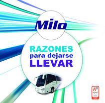 Autocares Milo. Um projeto de Design e Publicidade de Estudio de Diseño y Publicidad         - 17.07.2012