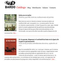 Bardo Ediciones - Editorial. A Design, Software Development, Photograph&IT project by Pablo Formoso         - 21.07.2012