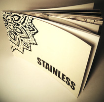STAINLESS TATTOO MAGAZINE. A Design, Illustration, and Photograph project by Belén Valiente Rodríguez - 27-07-2012