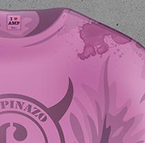 Propuesta cartel ENCIERROS AMPUERO 2012. Un proyecto de Diseño y Publicidad de Javier Melchor Cea - 02-08-2012