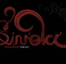 Sinela restaurante tablao. Un proyecto de Diseño, Ilustración y UI / UX de cristian rodríguez sañudo         - 21.08.2012
