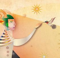 Fauno, tritón y otros seres. A Illustration project by Patricia Moreno         - 27.08.2012
