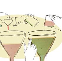 The project. Um projeto de Ilustração de bea fiteni         - 29.08.2012