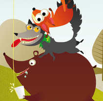 Vector illustration. A Design&Illustration project by Alba Dizy         - 06.09.2012