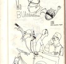 moneskine02. Um projeto de Ilustração de raquel arriola caamaño         - 18.09.2012