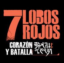 7 Lobos Rojos. Un proyecto de Diseño e Ilustración de Juandiego Calero         - 24.09.2012
