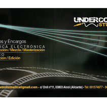 Alcoyweb / Undercore. A Design, Illustration, Advertising, Music, and Audio project by Abel Vañó Seguí         - 26.09.2012