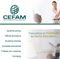CEFAM. A Design, and Software Development project by raquel lozano - 01-10-2012