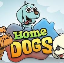 HomeDogs. Un proyecto de Diseño e Ilustración de dinou.cat         - 08.10.2012
