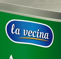 Packaging La Vecina. Un proyecto de Diseño, Ilustración, Publicidad y 3D de Álvaro Antonio Redondo Margüello - 10-10-2012