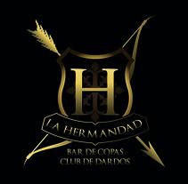 La Hermandad - Bar de Copas. A Design, Illustration, and Advertising project by Alberto  Fernández García - 13-10-2012