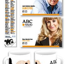 ABC Punto Radio. Um projeto de Design, Ilustração, Publicidade e 3D de María José Ámez Suárez         - 15.10.2012