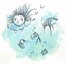 Deep Ocean Dream 02. Um projeto de Design, Ilustração, Publicidade, Música e Áudio, Motion Graphics, Instalações, Desenvolvimento de software, Fotografia, Cinema, Vídeo e TV, UI / UX, 3D e Informática de Maria Jesus Garcia Muñoz         - 23.10.2012