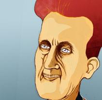 Escritoras y escritores. Un proyecto de Ilustración de Lluis Ràfols - Miércoles, 24 de octubre de 2012 21:39:00 +0200