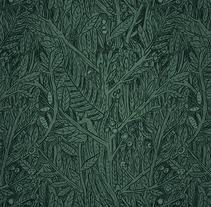 Patrón vegetal. Un proyecto de Diseño e Ilustración de Andrés Lozano         - 27.10.2012