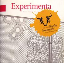 Revista Mes del diseño holandés. Um projeto de Design de Inma Lázaro         - 02.11.2012