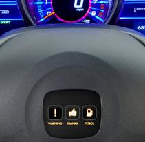 Honda social interface. Um projeto de UI / UX de Federico Crivellaro         - 01.01.2013
