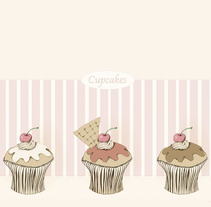 Cupcakes. A Design&Illustration project by Cecilia Sánchez         - 11.11.2012