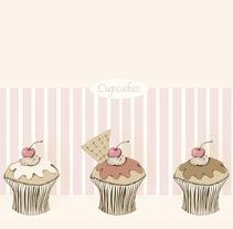 Cupcakes. Um projeto de Design e Ilustração de Cecilia Sánchez         - 11.11.2012